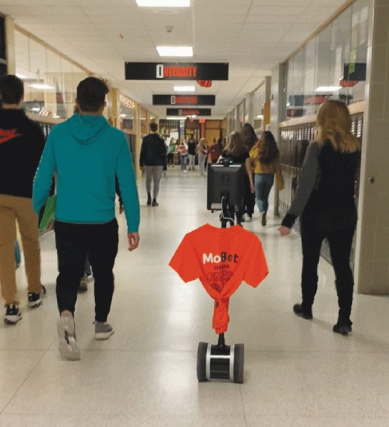 Robot Is School Link For Homebound Escanaba Student