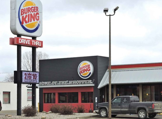 Kim Fundingsland/MDN  Burger King installed the first drive-through fast food window in Minot in 1976. Public response was very high. Although the franchise has undergone several changes, Burger King remains in business at the same South Broadway location today.