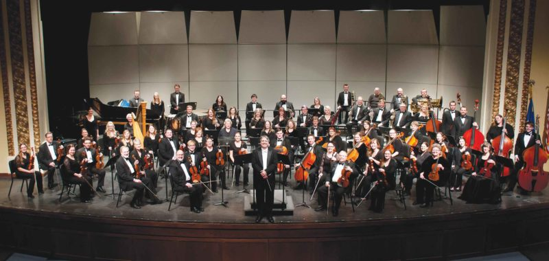 SubmittedPhoto  Today's Minot Symphony Orchestra under the direction of Efrain Amaya includes musicians from all walks of life.