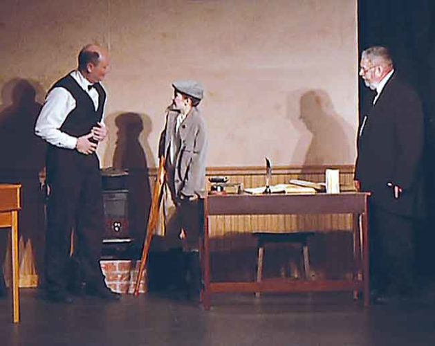 """Submitted Photo The 2015 performance of """"A Christmas Carol"""" by actors in Garrison. The Sakakawea Area Council of the Arts puts on many events."""