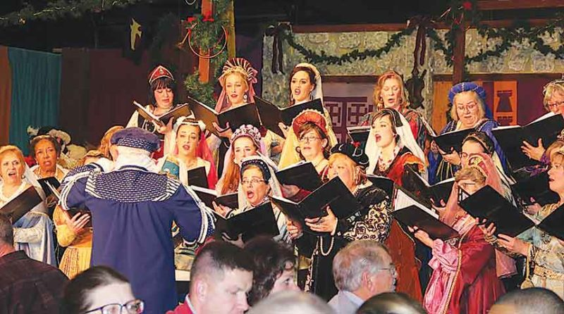 SubmittedPhoto The Renaissance Christmas Feast is one of the best known and most popular of events conducted by the Chamber Chorale of Minot.