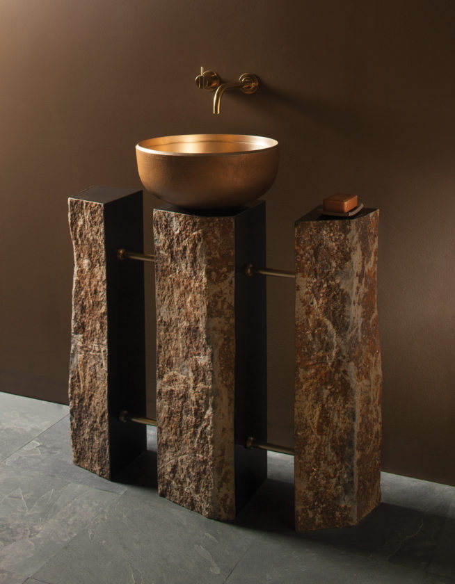 Right At Home New Pedestal Sinks Are Perches With Panache