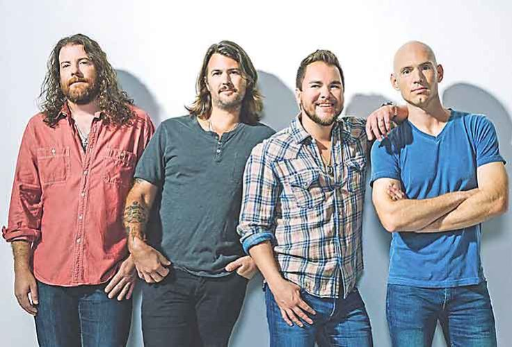 """SubmittedPhoto  With nearly 20 years of country classics, the Eli Young Band will perform its newest smash hit  """"Saltwater Gospel"""" at the Velva Saddle Club on Saturday."""