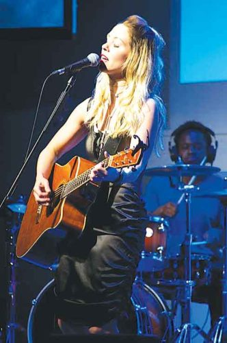 Submitted Photo  Classic Rock Coffee in Minot will host singer and songwriter Andrea Joy tonight at 7 p.m.