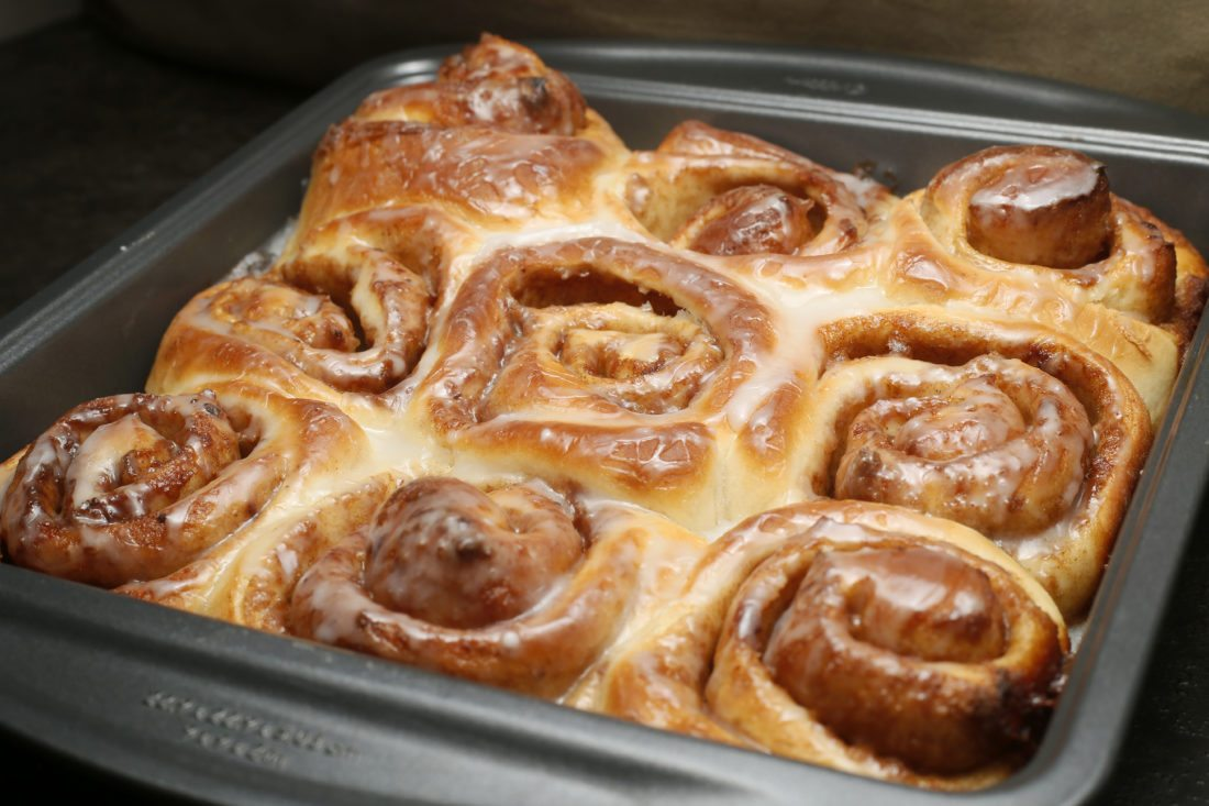 Quick and easy cinnamon rolls.  David Samson / The Forum