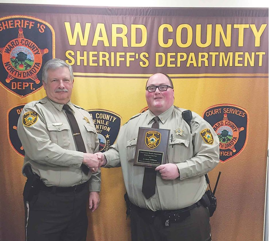 Ward County Sheriff's Department bestows honor   News