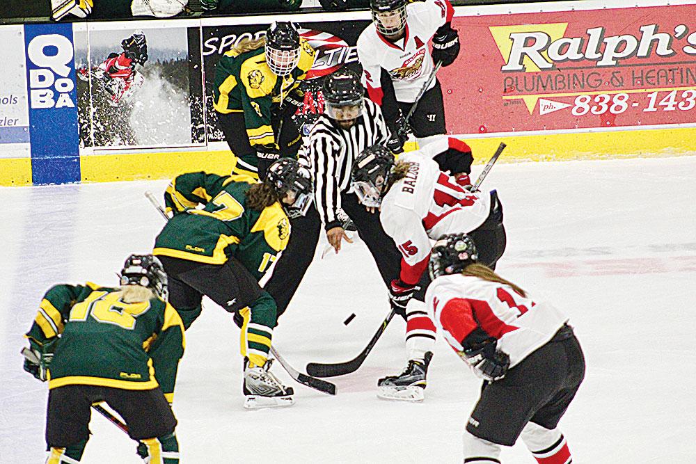 hot sale online 5d92c 52652 MSU women's hockey trounces NDSU, 10-1   News, Sports, Jobs ...