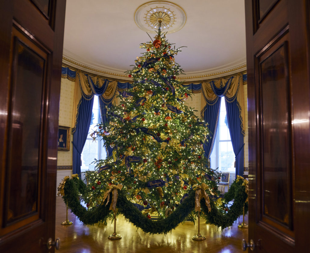 White House Holiday Theme Is American Treasures News Sports