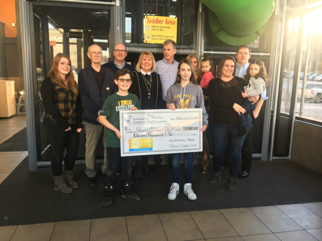 Local McDonald's and Twiced Blessed work together | News