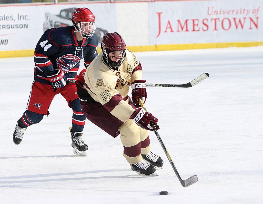 Magi Hockey Falls To Century In Outdoors Exhibition Game News