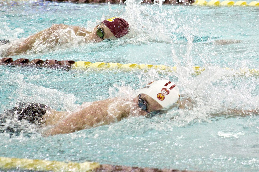 Magi swimming & diving takes first at Minot Invite | News, Sports