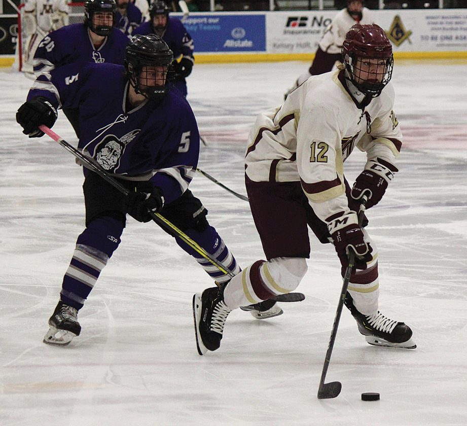 Magi Hockey Closes Out Regular Season With A Shutout News Sports