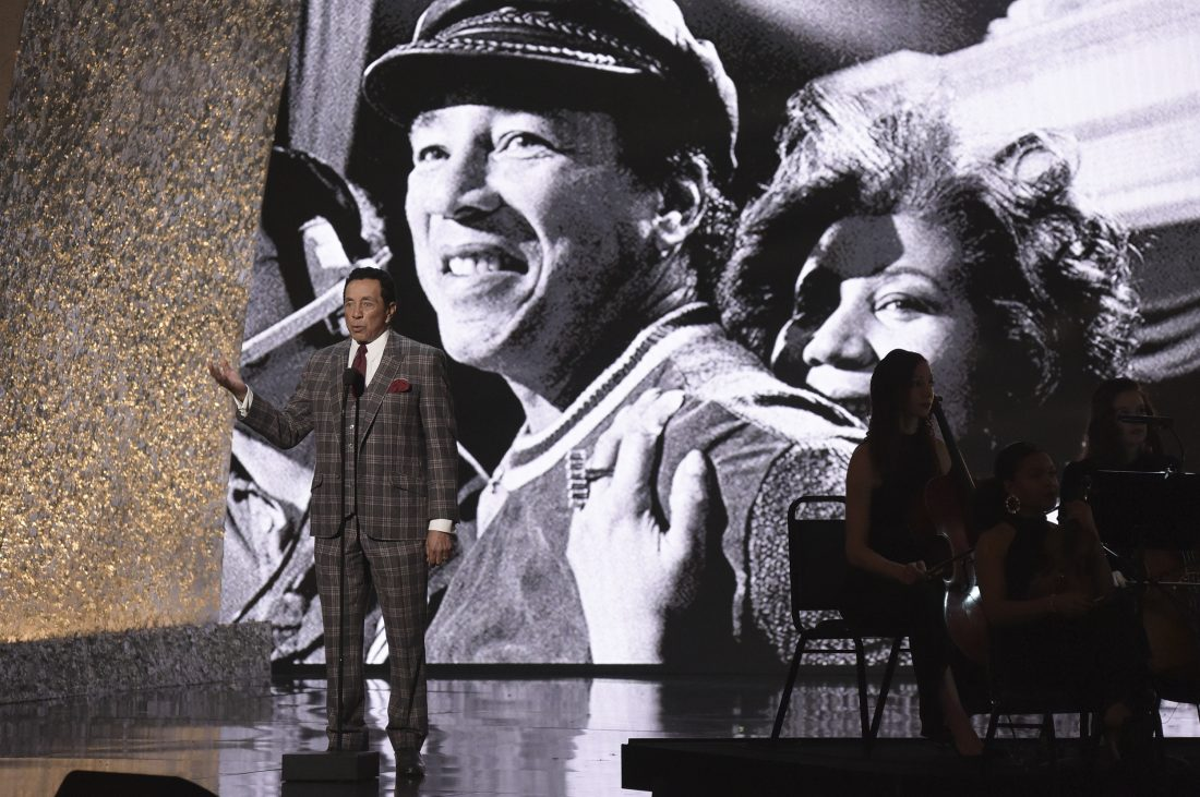 Smokey Robinson remembers Aretha Franklin at Sunday's