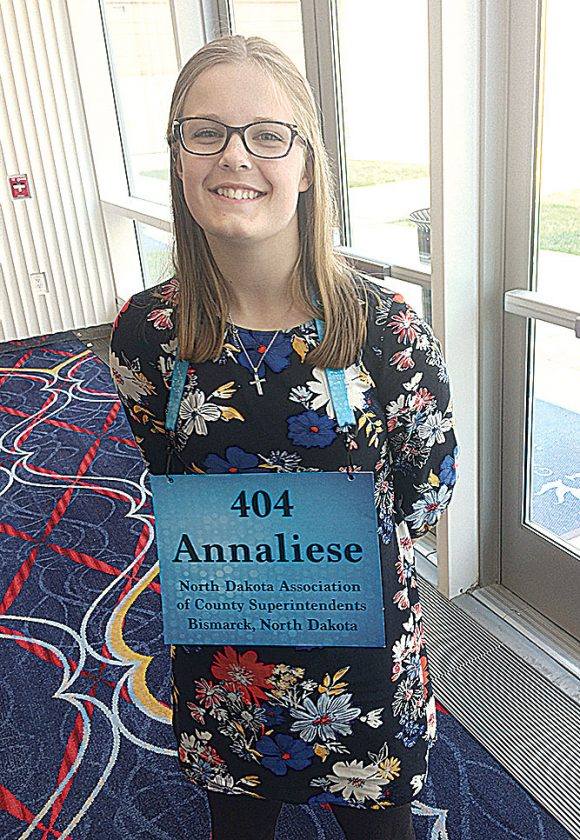 Local 8th grader competes in Scripps National Spelling Bee