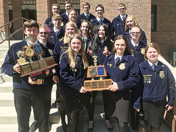 Minot FFA attends state convention