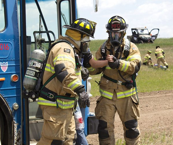 Minot airport's emergency exercise trains responders