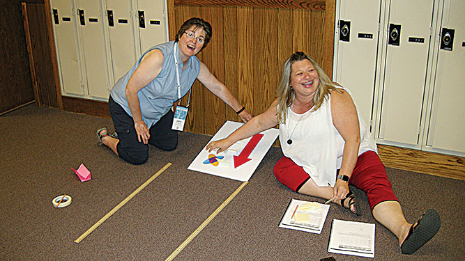 Conference gives teachers valuable ideas for the classroom