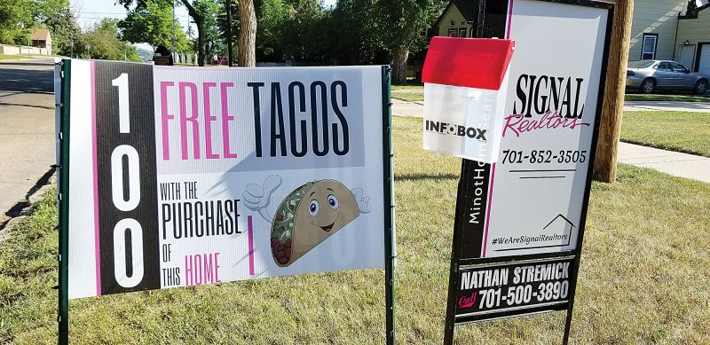 100 free tacos – home purchase required