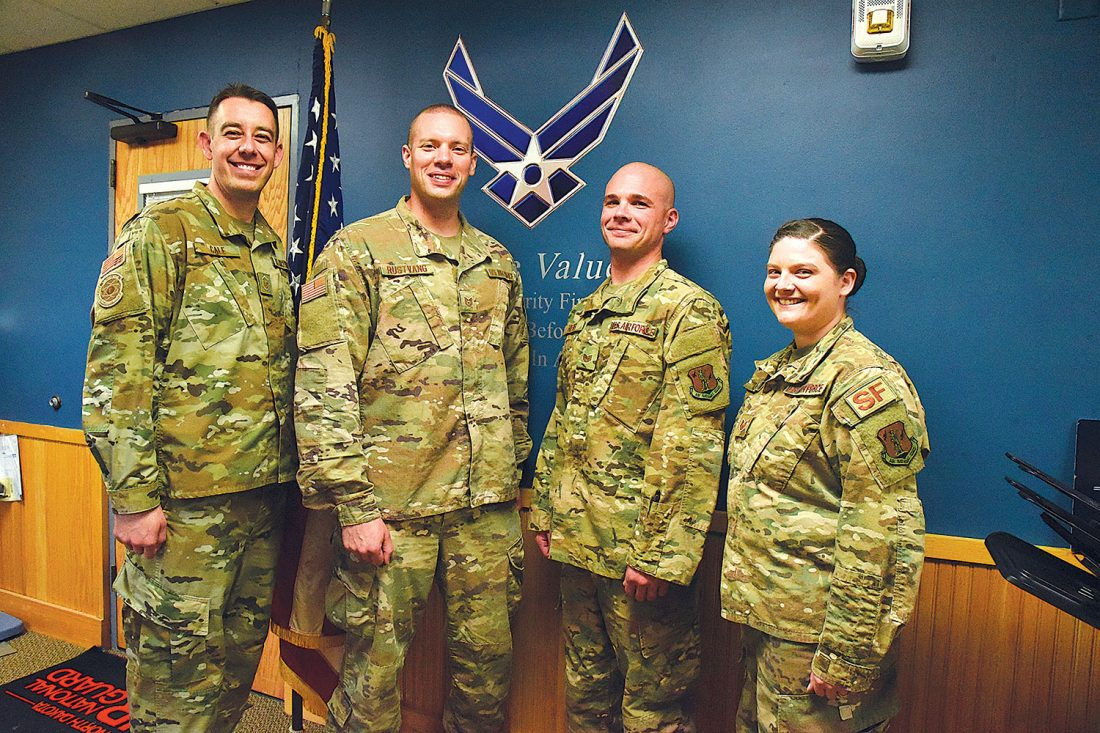 219th Security Forces Squadron unique to Minot Air Force