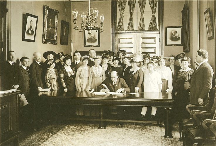 New exhibit focuses on 'Woman Suffrage in North Dakota'