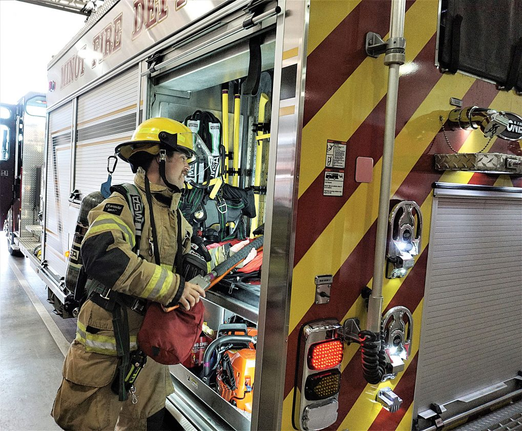 Minot Fire Department offers opportunities for recruits