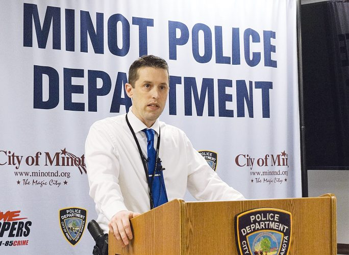 Minot Police release name of homicide victim, continue investigation