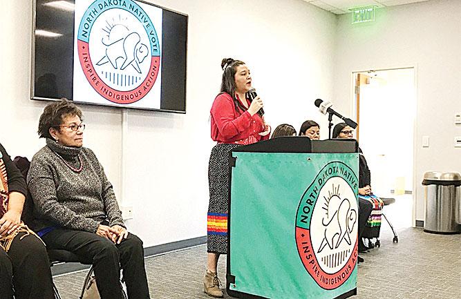 North Dakota Native Vote launches permanent organization