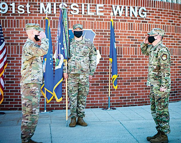 91st Missile Wing change of command