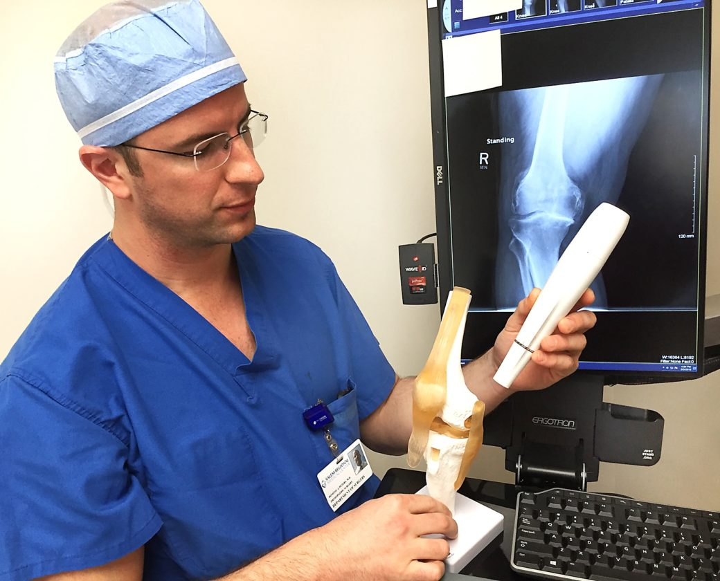 Nerve-freezing treatment used prior to knee replacements
