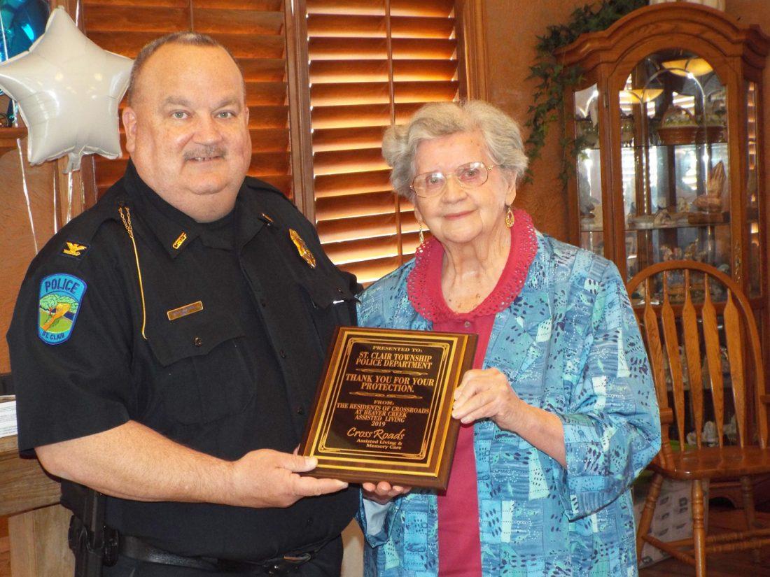 St  Clair Township police lead area seniors down memory lane