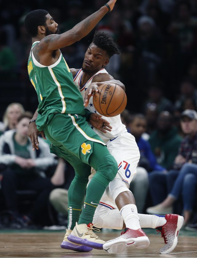Kyrie Irving leads Celtics over Sixers | News, Sports, Jobs