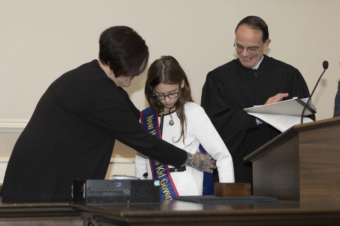 A CALL TO ACTION: Nashua student sworn in as Kid Governor