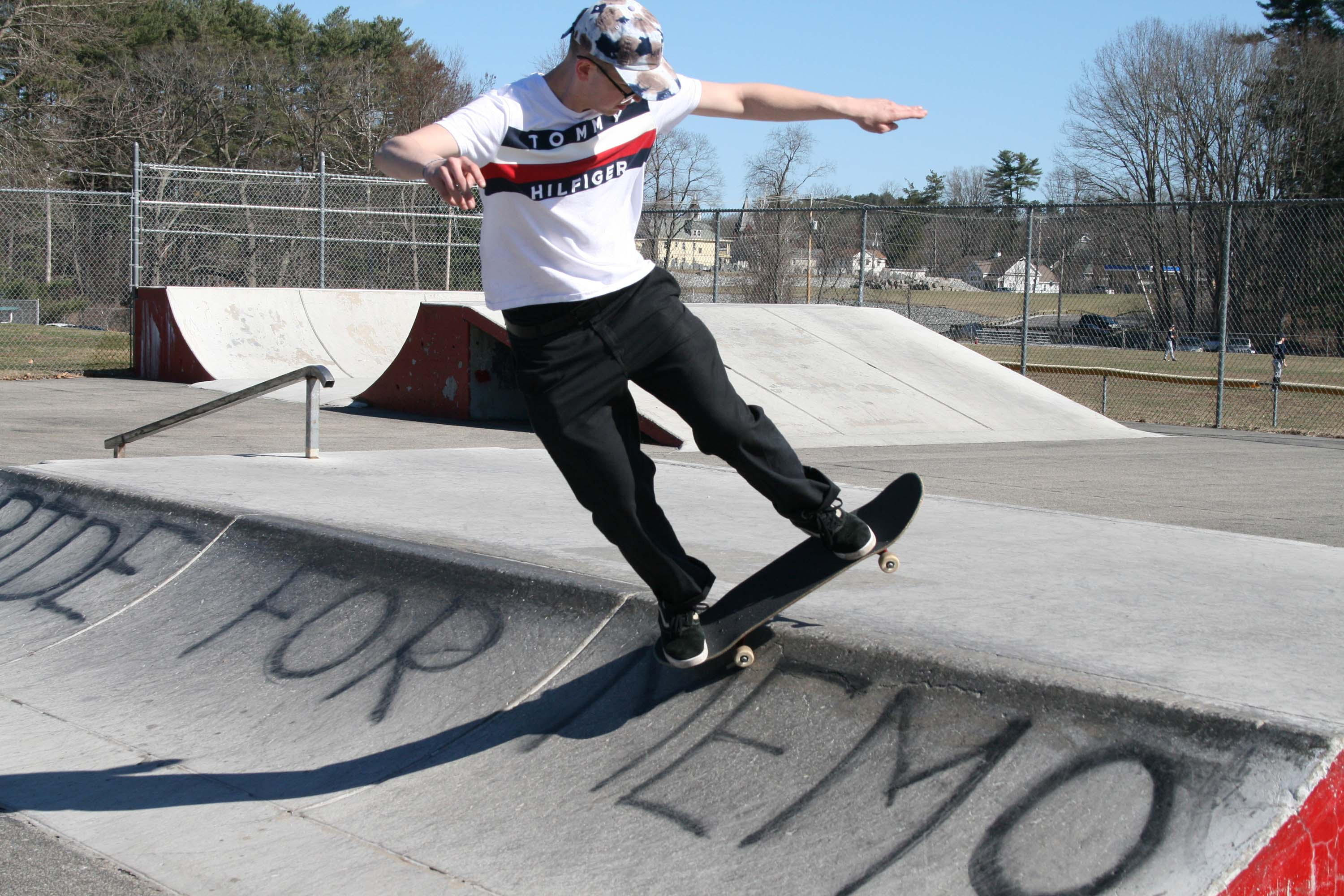 Skateboarders join forces with Recreation Department and Lions Club