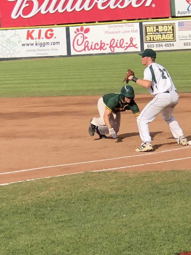 Bishop Guertin Baseball Brushes Off Manchester Central News