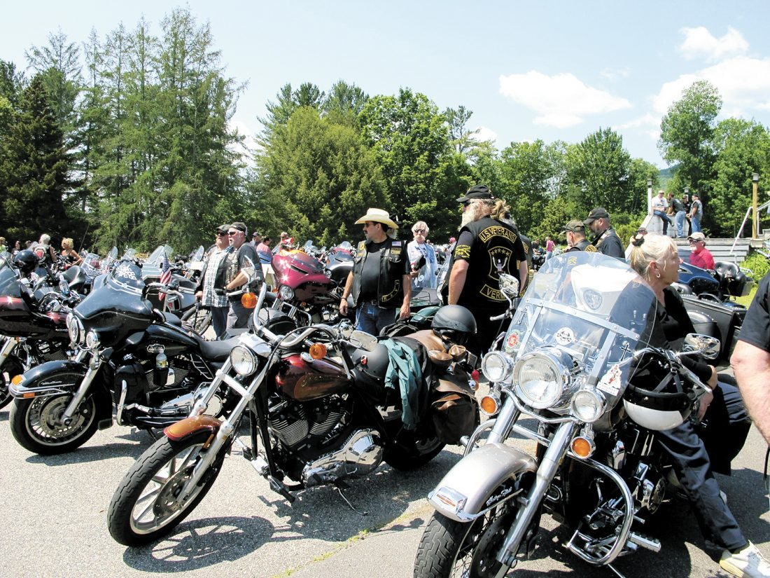 Bikers bid goodbye to seven motorcyclists killed in New Hampshire