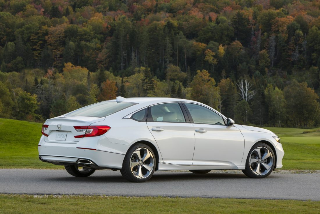 Motor Matters Auto Review Honda Accord All New For 2018 News Transmission The Features A Longer Wheelbase Lower Overall Height And Wider Body Wheel Tracks Shortened Length