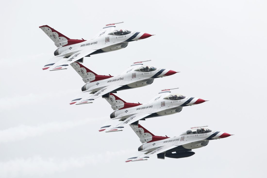 Fort Wayne Air Show planned for 2019, with the USAF Thunderbirds