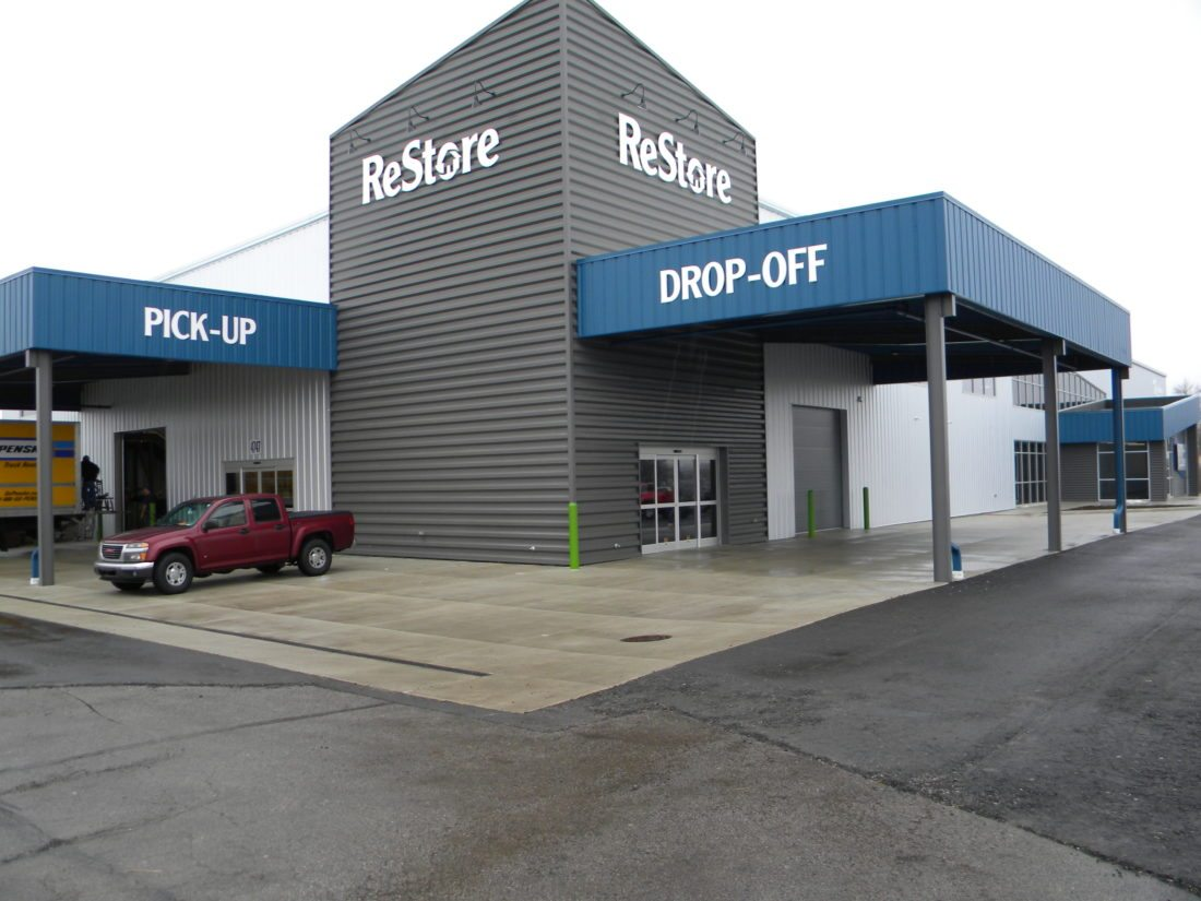 Video Tour And Photos Fort Wayne Habitat For Humanity S New Restore