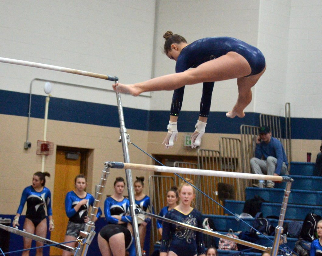 Reserves step up for Carroll, Bishop Dwenger gymnastics