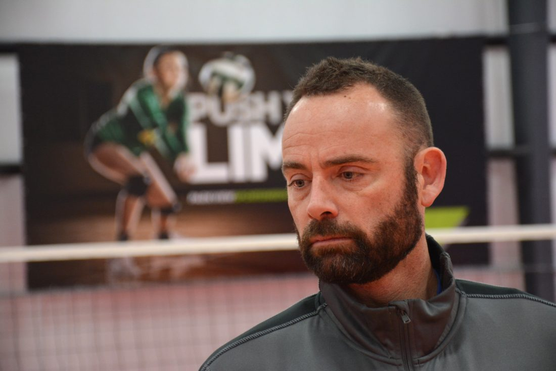 Olympic gold medalist Lloy Ball opens his volleyball palace in