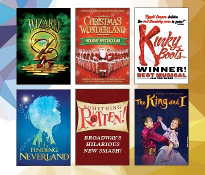 Broadway Shows Christmas 2019 Fort Wayne's Embassy Theatre announces 2018 2019 Broadway at the
