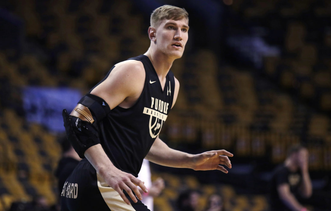 buy online 24e8f a5ad7 Purdue's Isaac Haas joins Utah Jazz for NBA Summer League ...
