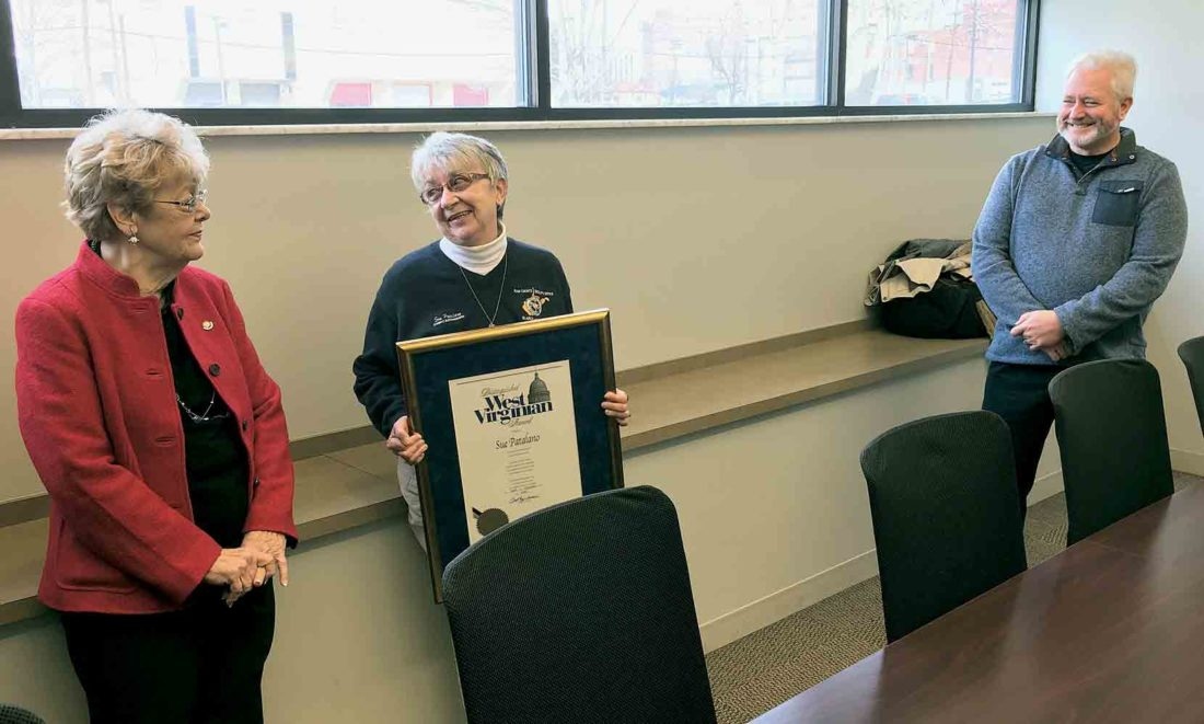 Sue Patalano named Distinguished West Virginian   News