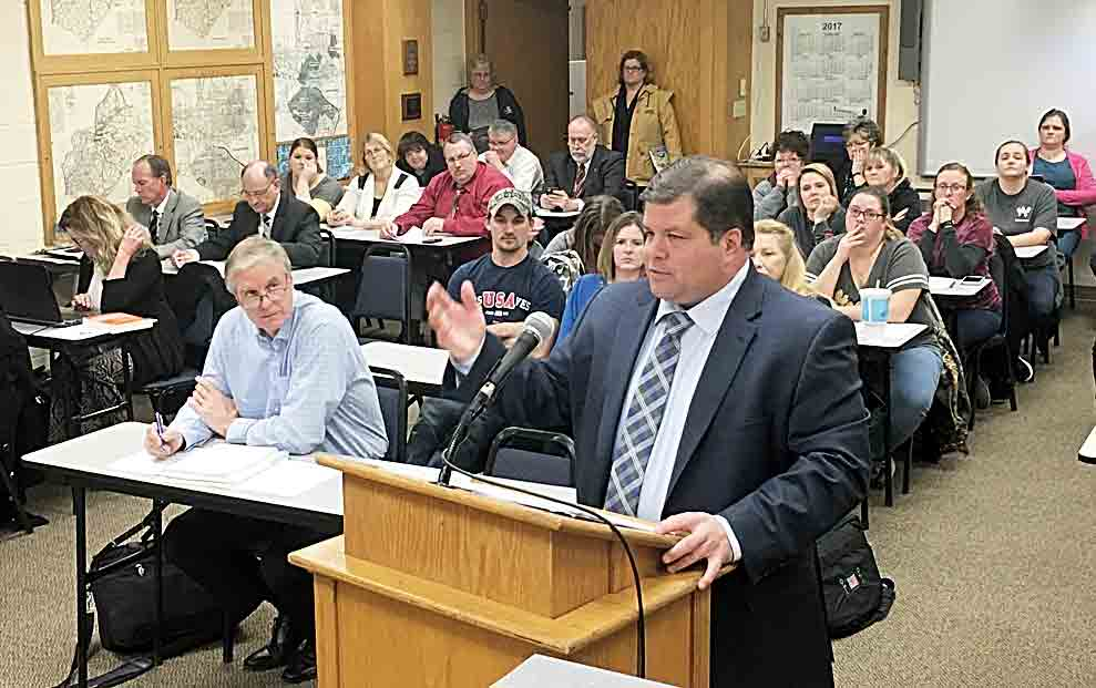 Wood County Board of Education approves revised bond