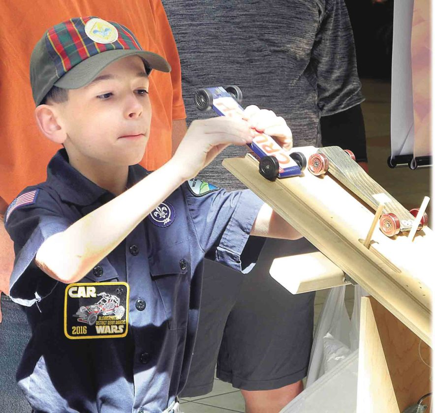 Pinewood Derby To Be Held At Grand Central Mall Saturday