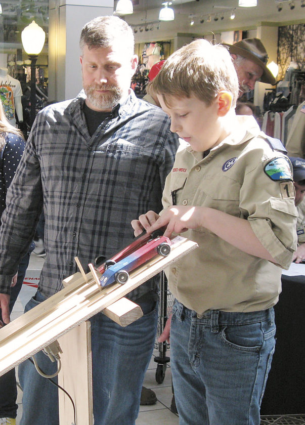 Pinewood Derby Speeds Through Its 45th Year