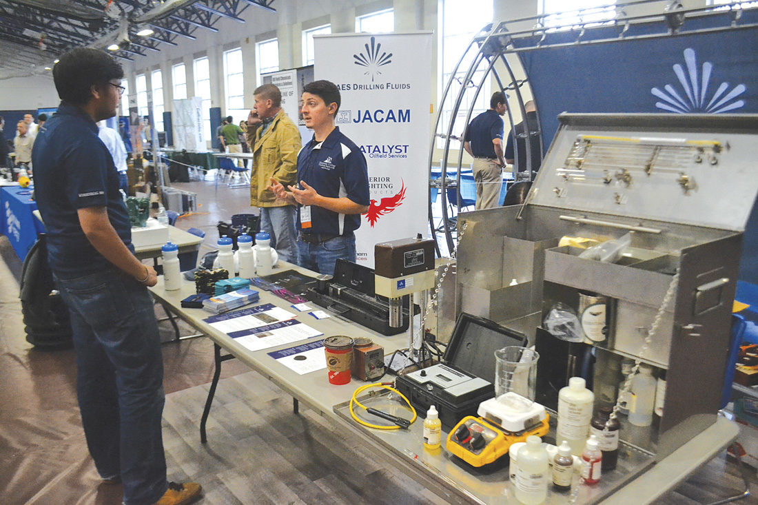 Marietta College showcases oil, gas industry at exhibition