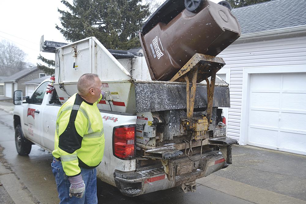 Marietta Garbage Truck Driver Says Job Has Its Perks
