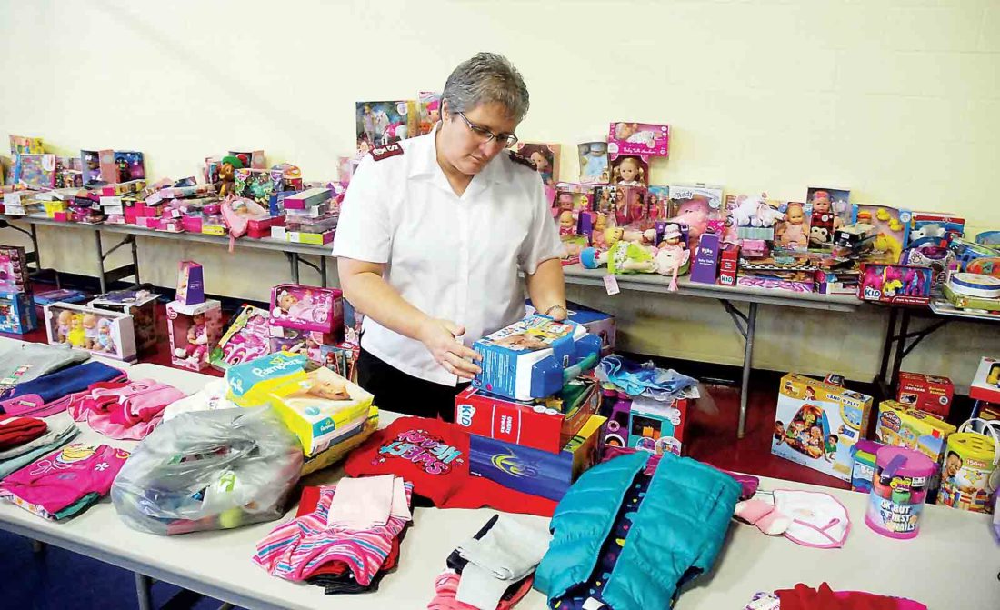 Angels Among Us: Salvation Army Program Distributes Toys