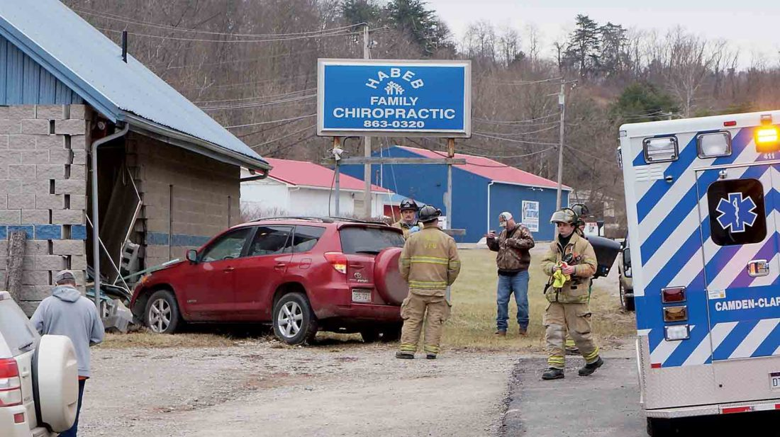 Suv Crashes Into Wood County Chiropractic Office News